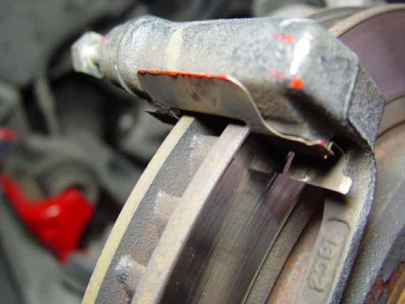Brake Pad Clips >> mqqn's C5 Technical Information Pages - Complete C5 Clutch Replacement step by step.