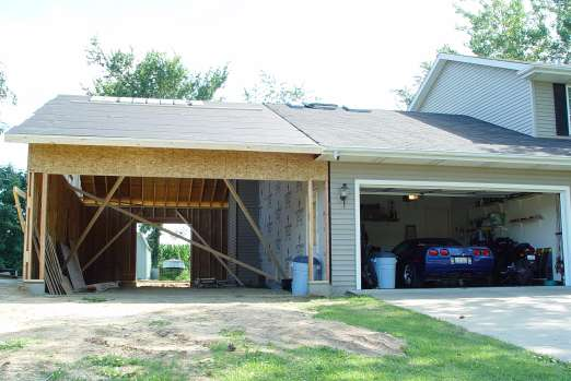 Zeeoh6 39 s c5 home garage for How to add onto your house